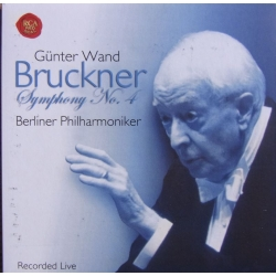 Bruckner: Symphony no. 4. Günter Wand, Berliner Philharmoniker. (1998) 1 CD. RCA