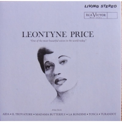 Leontyne Price sings Verdi and Puccini arias. 1 CD. RCA. Living Stereo