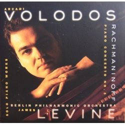 Rachmaninov: Klaverkoncert nr. 3. Volodos, James Levine, Berliner PO. 1 CD. Sony