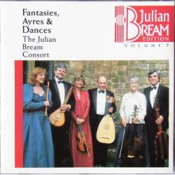 Julian Bream. Fantasies, Ayres and Dances. The Julian Bream Consort. 1 CD. RCA