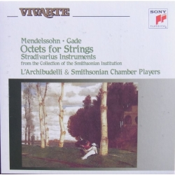 Gade & Mendelssohn: Octets for Strings. L'Archibudelli. 1 CD. Sony Vivarte