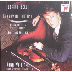 George Gershwin: Violin fantasy on Porgy and Bess. Joshua Bell, LSO, John Williams. 1 CD. Sony