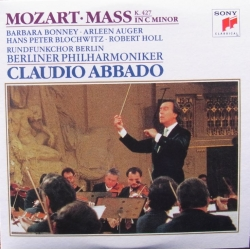 Mozart: Mass in C. Claudio Abbado, Barbara Bonney, Arleen Auger, Berliner PO. 1 CD. Sony