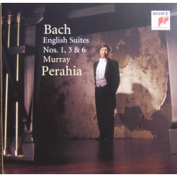 Bach: Engelske suiter nr. 1, 3 & 6. Murray Perahia. 1 CD. Sony
