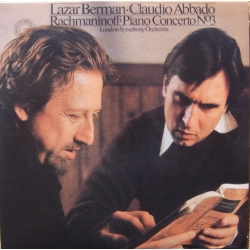 Rachmaninov: Piano Concerto no. 3. Lazar Berman, Claudio Abbado, London Symphony Orchestra. 1 CD. Sony