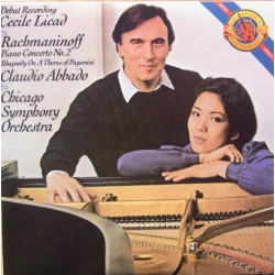 Rachmaninov: Piano Concerto no. 2. Cecile Licad, Chicago SO, Claudio Abbado. 1 CD. Sony