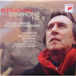 Beethoven: Symphony no. 9. Claudio Abbado, Berliner Philharmoniker. 1 CD. Sony