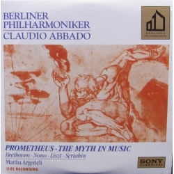Prometheus - The myth in music. Beethoven, Nono, Liszt, Scriabin. Martha Argerich, Claudio Abbado, Berliner PO. 1 CD. Sony