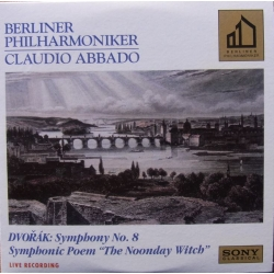 Dvorak: Symphony no. 8. Claudio Abbado, Berliner Philharmoniker. 1 CD. Sony