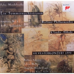 Mendelssohn: A midsummernights dream. Claudio Abbado, Berliner Philharmoniker. 1 CD. Sony