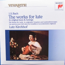Bach: The Works for lute. Lutz Kirchhof. 2 CD. Sony Vivarte