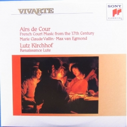 Airs de Cour. French Court music from the 17th Century. Lutz Kirchhof - lute. 1 CD. Sony. Vivarte