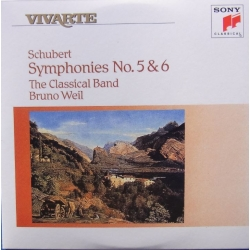 Schubert: Symfoni nr. 5 & 6. Bruno Weil, The Classical Band. 1 CD. Sony Vivarte