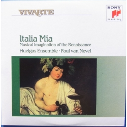 Italia Mia. Huelgas Ensemble, Paul van Nevel. 1 CD. Sony Vivarte
