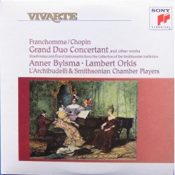 Franchomme - Chopin: Grand Duo Concertant. Bylsma, Orkis. 1 CD. Sony Vivarte