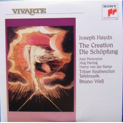Haydn: The Creation. Bruno Weil, Tafelmusik. 2 CD. Sony Vivarte