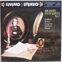 Brahms: Klaverkoncert nr. 1. Graffman, Charles Munch, Boston SO. 1 CD. RCA. Living Stereo