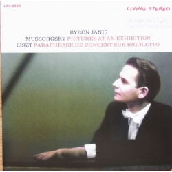 Mussorgsky: Pictures at an Exhibition. Byron Janis. 1 CD. RCA Living Stereo