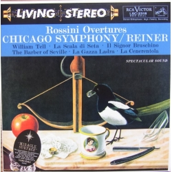 Rossini: Overtures. Fritz Reiner, Chicago Symphony Orchestra. 1 CD. RCA Living Stereo