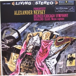 Prokofiev: Alexander Nevsky. Fritz Reiner, Chicago SO. 1 CD. RCA Living Stereo