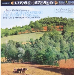 Copland: Appalachian Spring + The Tender Land suite. 1 CD. RCA Living Stereo