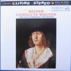 Fritz Reiner conducts Wagner, Chicago Symphony Orchestra. 1 CD. RCA Living Stereo
