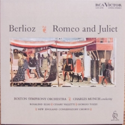 Berlioz: Romeo and Juliet. Charles Munch. Boston SO. 2 CD. RCA Living Stereo