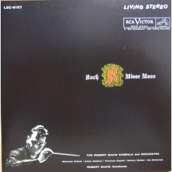 Bach: Messe i H-Mol. Robert Shaw. 3 CD. RCA Living Stereo