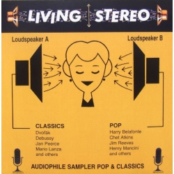 Audiophile Sampler for pop and Classics. 1 CD. RCA Living Stereo