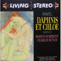 Ravel: Daphnis et Chloe. Charles Munch, Boston SO. 1 CD. RCA Living Stereo