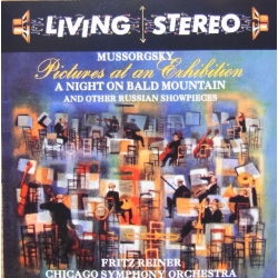 Mussorgsky: Pictures at an Exhibition. Fritz Reiner, Chicago SO. 1 CD. RCA Living Stereo