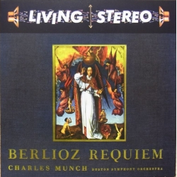 Berlioz: Requiem. Charles Munch. Boston SO. 2 CD. RCA Living Stereo