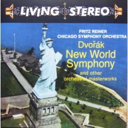 Dvorak: Symfoni nr. 9. Fritz Reiner, Chicago SO. 1 CD. RCA Living Stereo