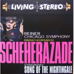 Rimsky-Korsakov Sheherazade & Stravinsky: Song of the Nightingale. Fritz Reiner, Chicago Symphony Orch. 1 CD RCA Living Stereo