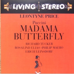 Puccini: Madama Butterfly. Price, Tucker, Elias. Leinsdorf. 2 CD. RCA Living Stereo