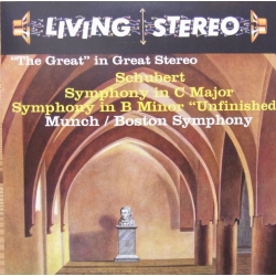 Schubert: Symphony no. 9. (the Great). Charles Munch, Boston Symphony Orchestra. 1 CD. RCA Living Stereo