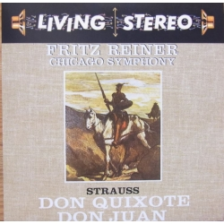 Strauss: Don Quixote, Don Juan. Fritz Reiner, Chicago SO. 1 CD. RCA Living Stereo