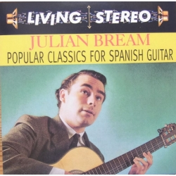 Julian Bream. Popular Classic for Spanish Guitar. 1 CD. RCA Living Stereo