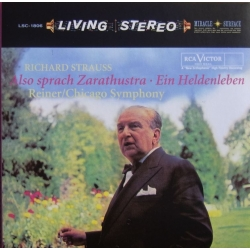 Strauss: Also Sprach Zarathustra, Fritz Reiner, CSO. 1 CD. RCA Living Stereo
