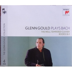 Bach: The Well-Tempered Clavier. Part 1 & 2. Glenn Gould (piano). 4 CD. Sony