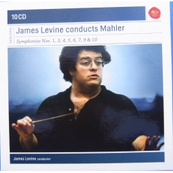 Mahler: Symfoni nr. 1, 3, 4, 5, 6, 7, 9 & 10. James Levine. 10 CD. RCA