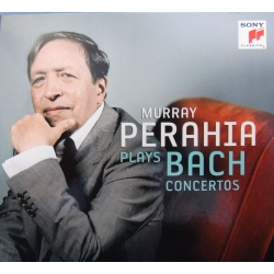 Bach: Klaverkoncert nr. 1-7. Murray Perahia, Marriner. 3 CD. Sony