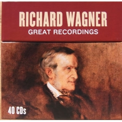 Richard Wagner: Great Recordings. 40 CD. Sony