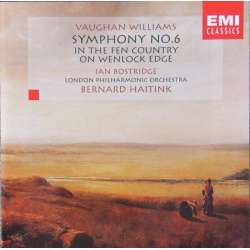 Vaughan Williams: Symfoni nr. 6 & In the fen Country. Ian Bostridge, LPO. Bernard Haitink. 1 CD. EMI