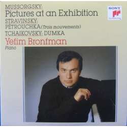 Mussorgsky: Pictures at an Exhibition. & Stravinsky: Petrouchka. Yefim Bronfman. 1 CD. Sony