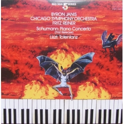 Schumann: Piano Concerto & Liszt: Totentanz. Byron Janis, Chicago Symphony Orcestra. Fritz Reiner. 1 CD. RCA