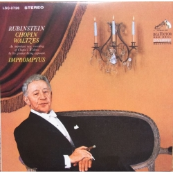 Chopin: Waltzer + Impromptus. Artur Rubinstein. 1 CD. RCA. Living Stereo