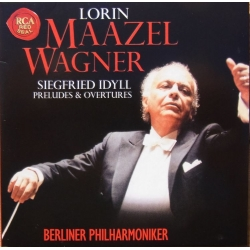 Wagner: Siegfrieds Idyll, Preludes & Overtures. Lorin Maazel, Berliner PO. 1 CD. RCA