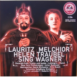 Lauritz Melchior - Helen Traubel synger Richard Wagner. 2 CD. RCA