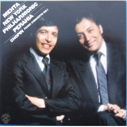 Chopin: Piano Concertos nos. 1 & 2. Murray Perahia, Zubin Mehta. New York Philharmonic. 1 CD. Sony